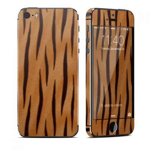 Tiger Stripes iPhone SE, 5s Skin