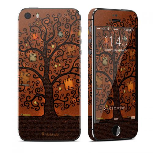 Tree Of Books iPhone SE, 5s Skin