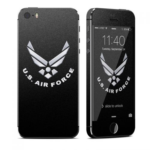 USAF Black iPhone SE, 5s Skin