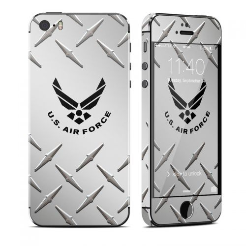 USAF Diamond Plate iPhone SE, 5s Skin
