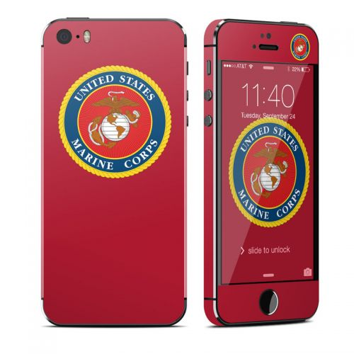 USMC Red iPhone SE, 5s Skin