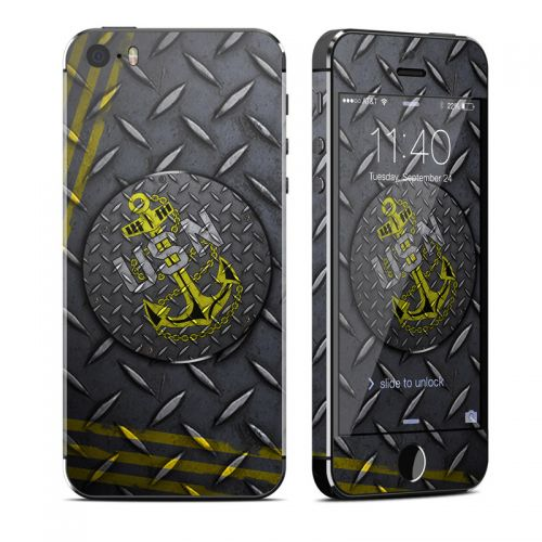 USN Diamond Plate iPhone SE, 5s Skin