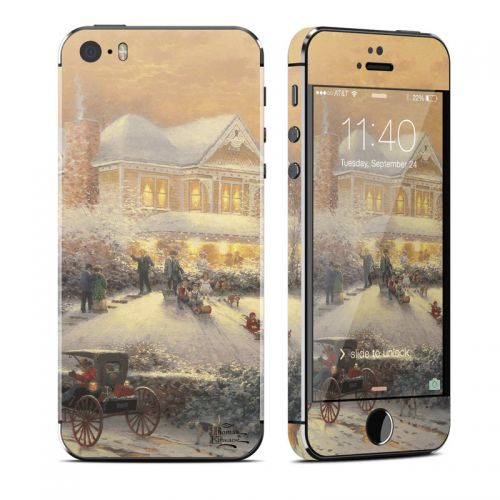 Victorian Christmas iPhone SE, 5s Skin