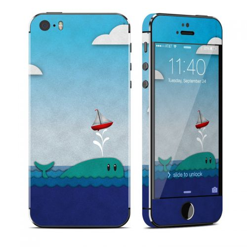 Whale Sail iPhone SE, 5s Skin