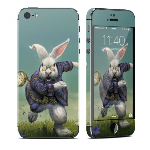White Rabbit iPhone SE, 5s Skin