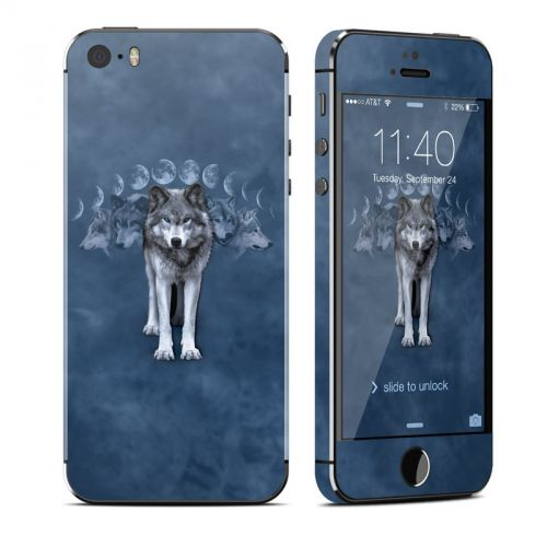 Wolf Cycle iPhone SE 1st Gen, 5s Skin