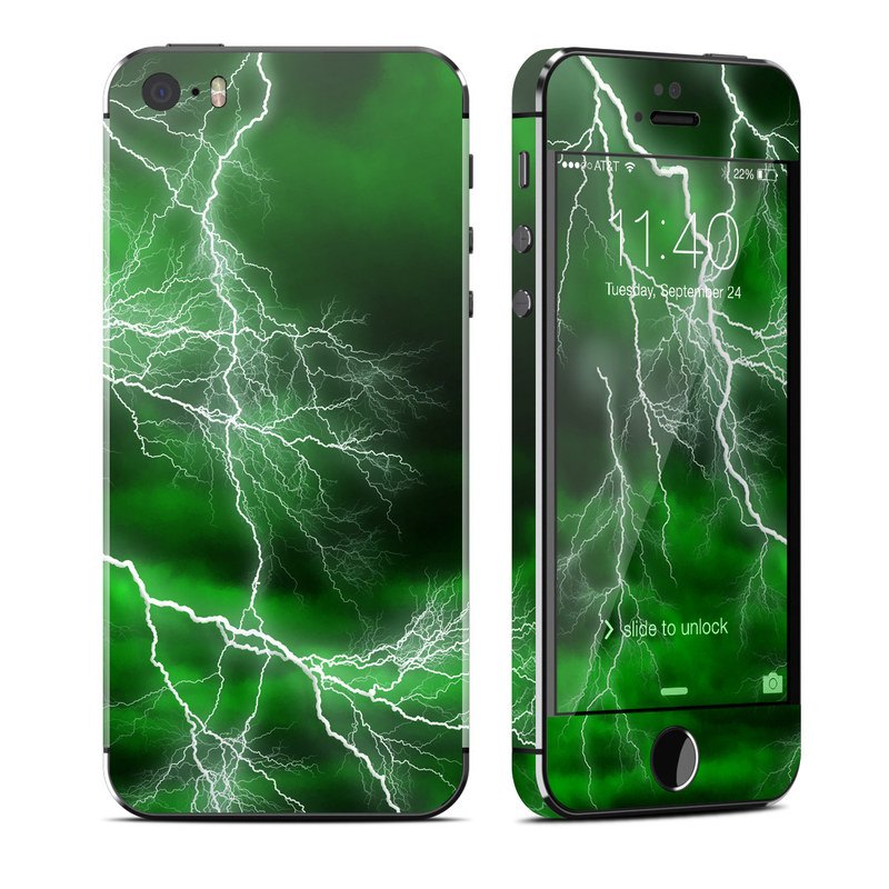 Apocalypse Green iPhone SE, 5s Skin
