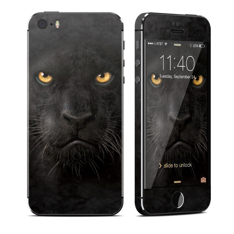newest 002c9 f1560 Black Panther iPhone SE, 5s Skin | iStyles