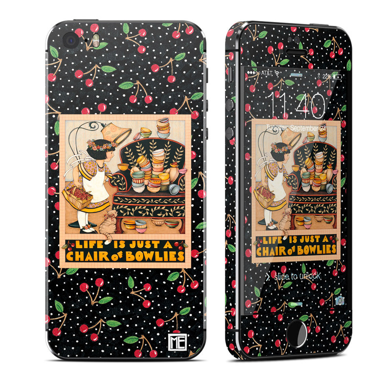 Chair of Bowlies iPhone SE, 5s Skin