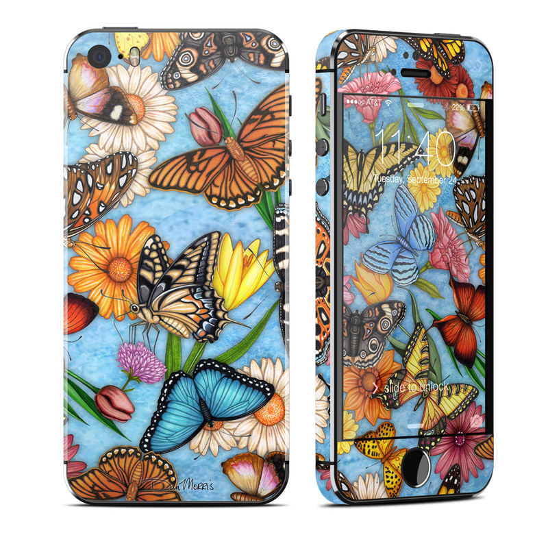 Butterfly Land iPhone SE, 5s Skin