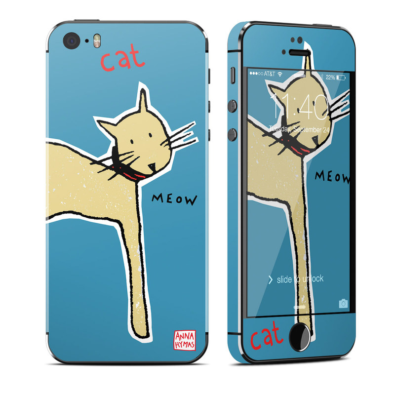 Cat iPhone SE, 5s Skin