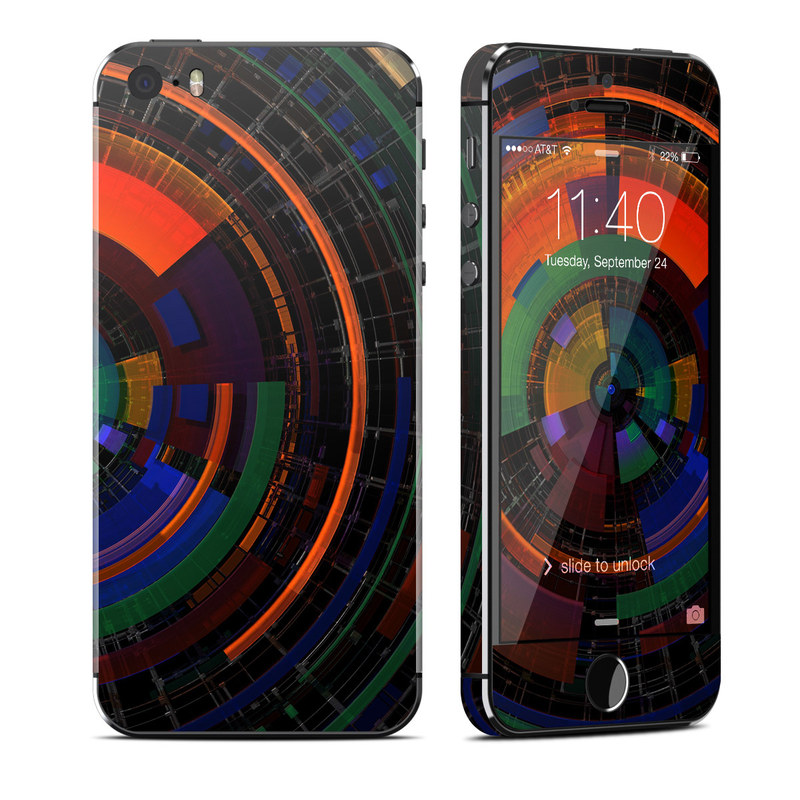 Color Wheel iPhone SE, 5s Skin