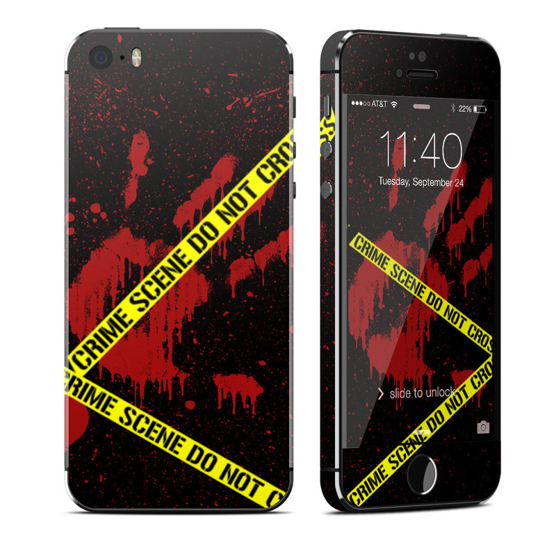 Crime Scene iPhone SE, 5s Skin