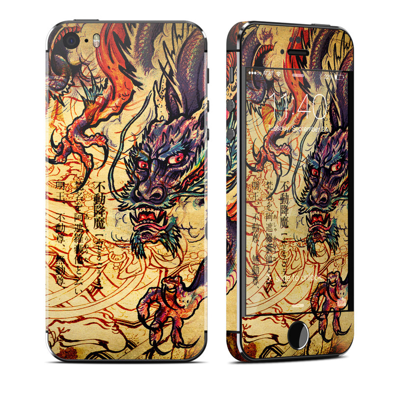 Dragon Legend iPhone SE, 5s Skin