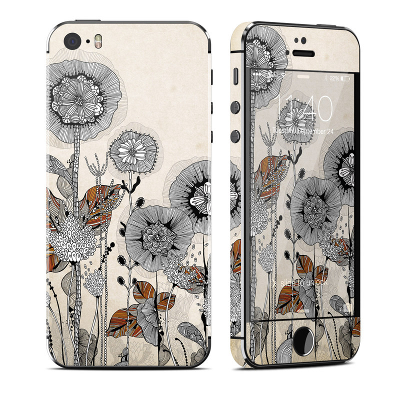 Four Flowers iPhone SE, 5s Skin