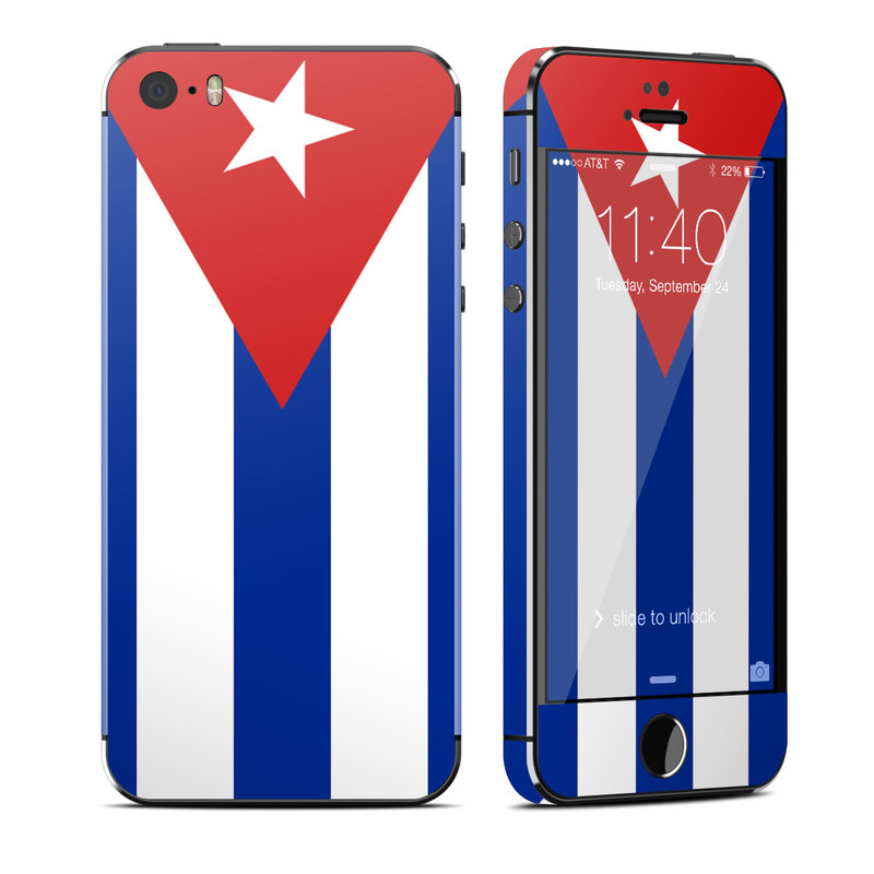 Cuban Flag iPhone SE, 5s Skin