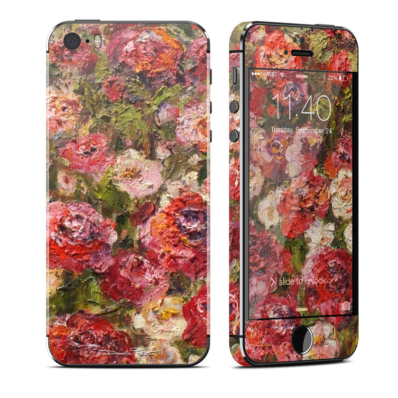 Fleurs Sauvages iPhone SE, 5s Skin