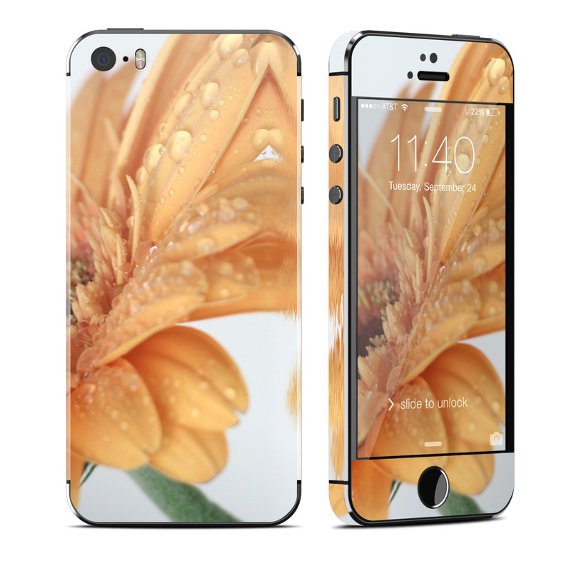 Golden Gerbera iPhone SE, 5s Skin