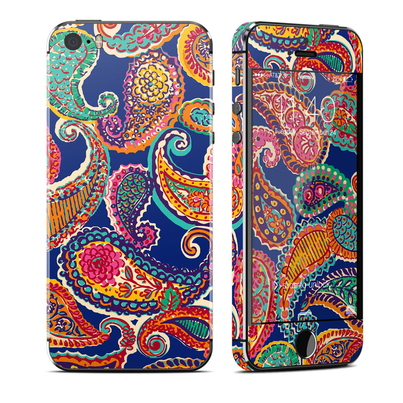Gracen Paisley iPhone SE, 5s Skin