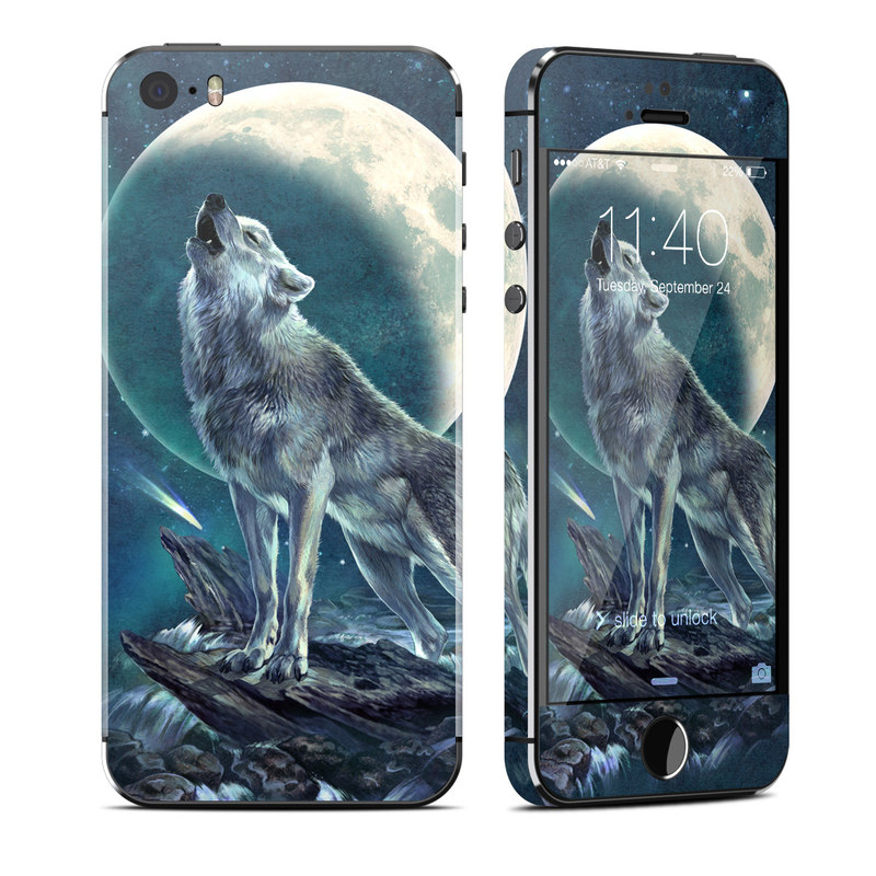 Howling Moon Soloist iPhone SE, 5s Skin