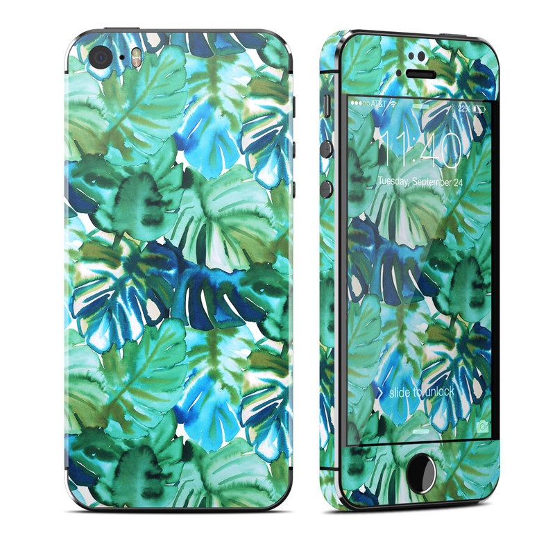 Jungle Palm iPhone SE, 5s Skin