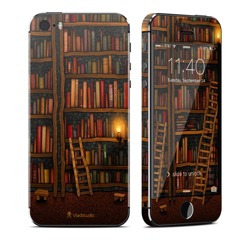 Library iPhone SE, 5s Skin