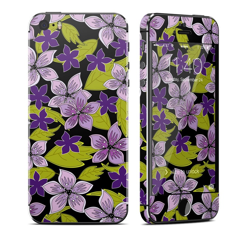 Lilac iPhone SE, 5s Skin