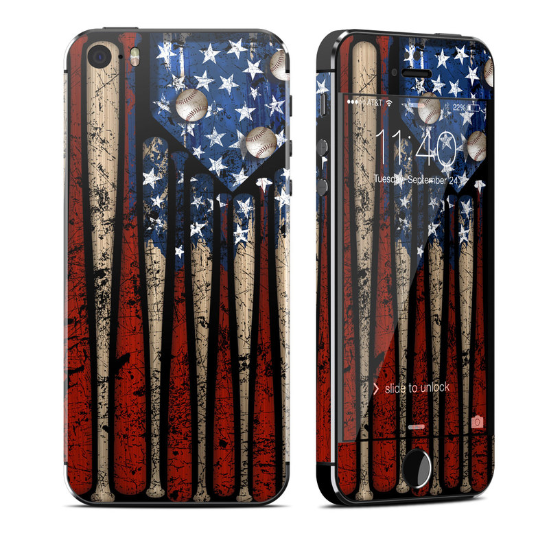 Old Glory iPhone SE, 5s Skin