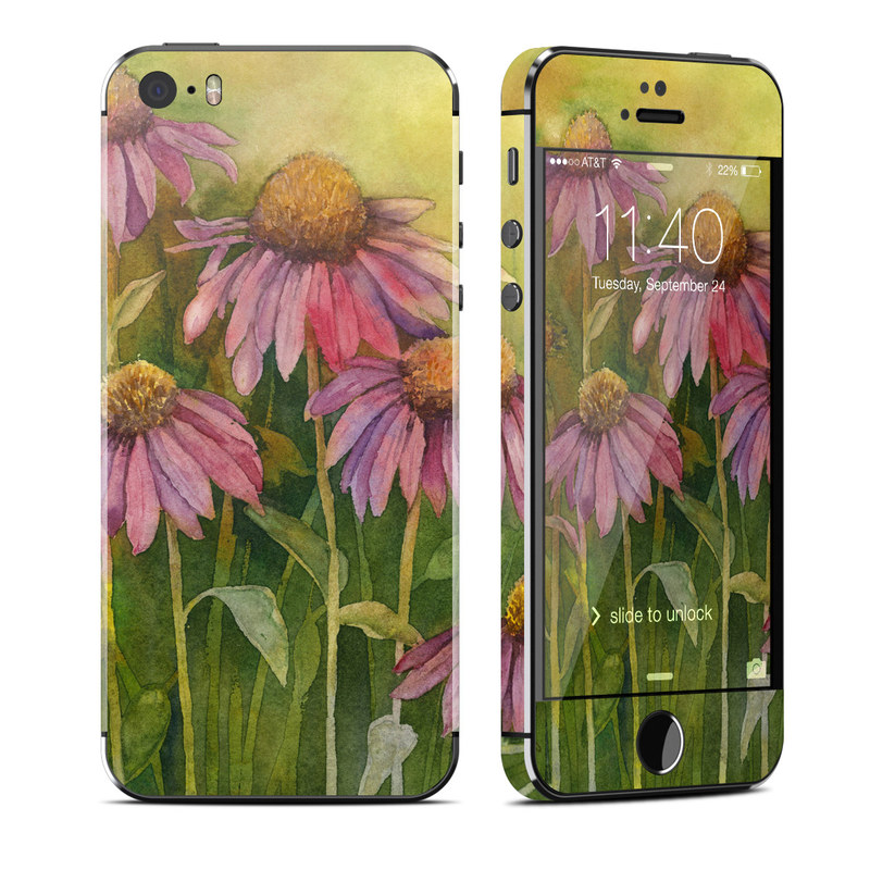 Prairie Coneflower iPhone SE, 5s Skin