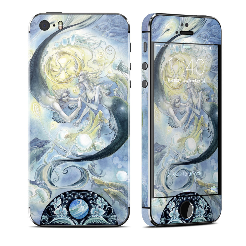 Pisces iPhone SE, 5s Skin
