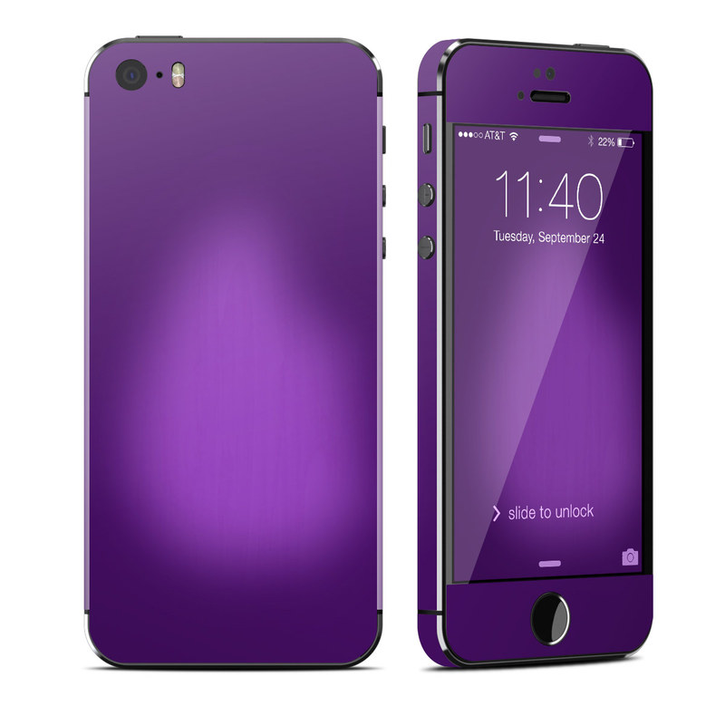 Wallpapers For Iphone Se: Purple Burst IPhone SE, 5s Skin