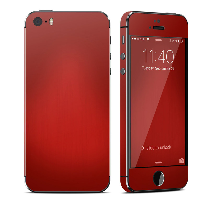Red Burst iPhone SE, 5s Skin