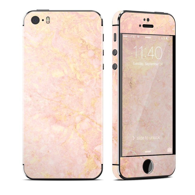 the latest 90563 718ce Rose Gold Marble iPhone SE, 5s Skin