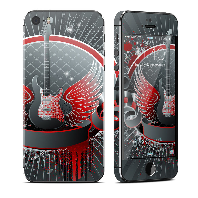 Rock Out iPhone SE, 5s Skin