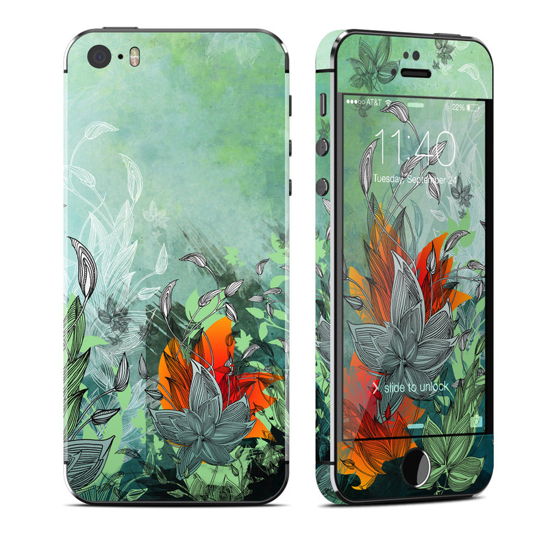 Sea Flora iPhone SE, 5s Skin