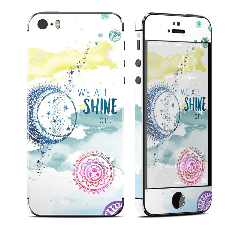 Shine On iPhone SE, 5s Skin