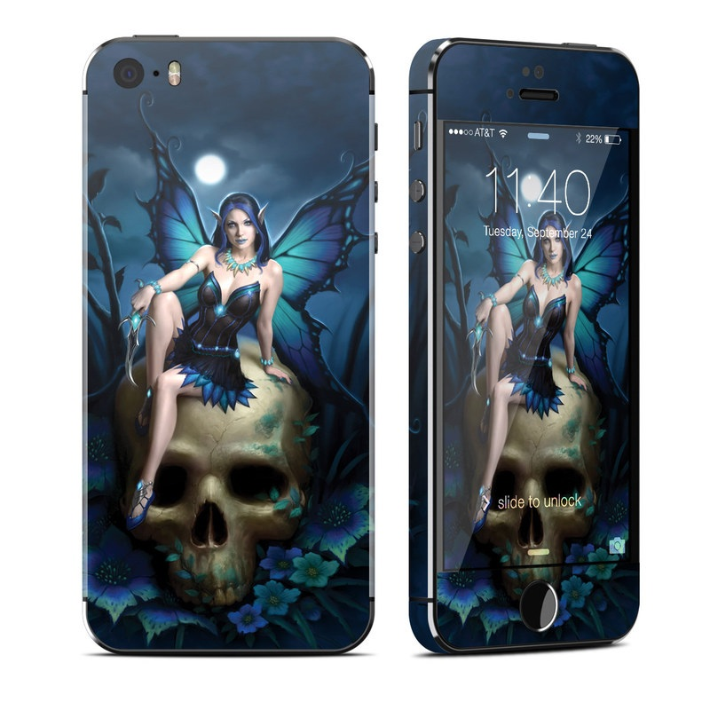 Skull Fairy iPhone SE, 5s Skin