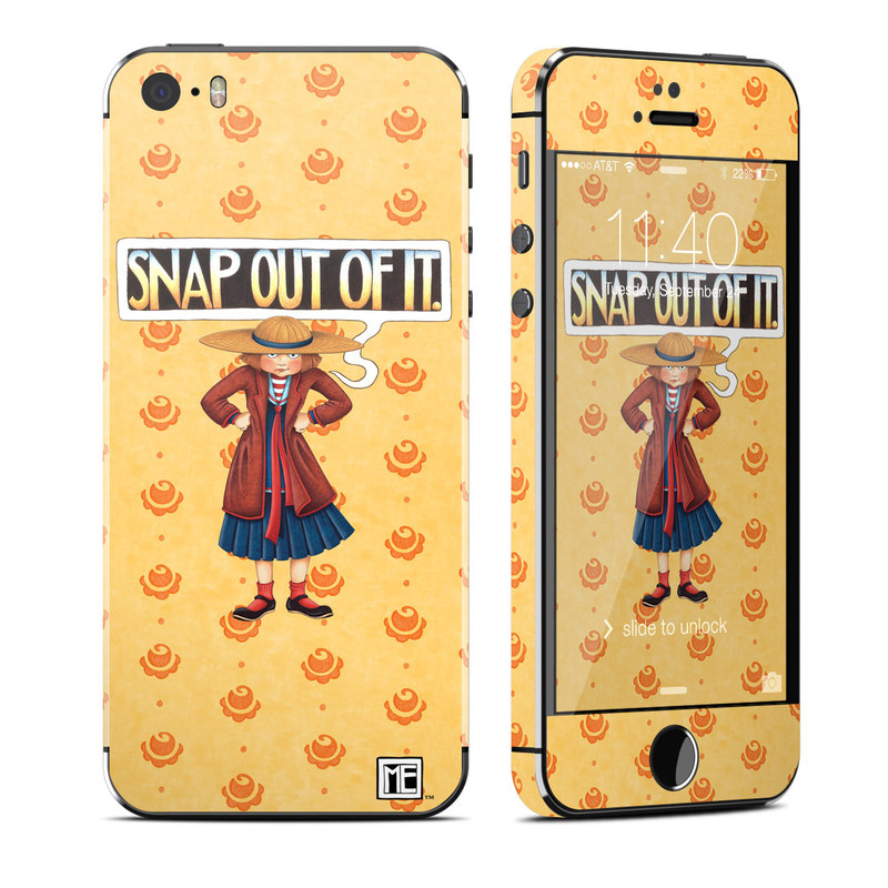 Snap Out Of It iPhone SE, 5s Skin
