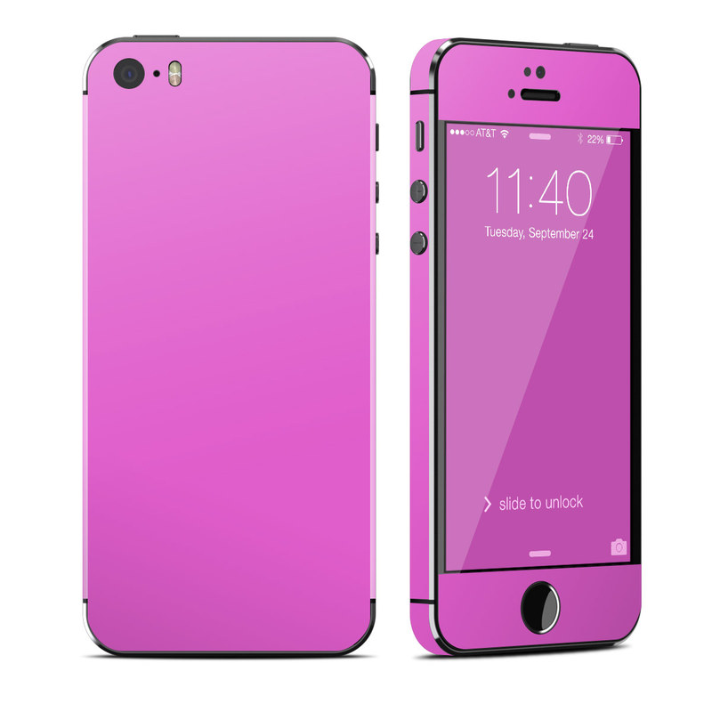 iPhone SE 1st Gen, 5s Skin design of Violet, Pink, Purple, Red, Lilac, Magenta, Blue, Lavender, Text, Sky with pink colors