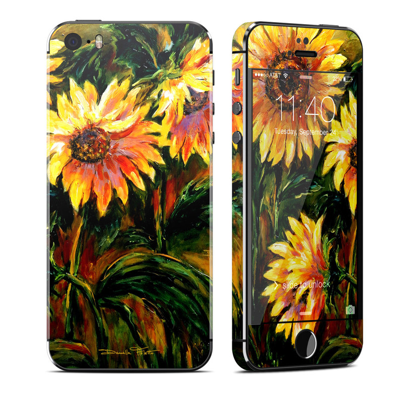 Sunflower Sunshine iPhone SE, 5s Skin