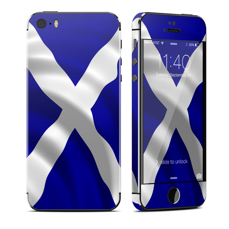 St. Andrew's Cross iPhone SE, 5s Skin