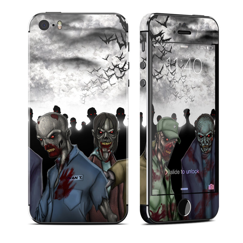 Undead iPhone SE, 5s Skin