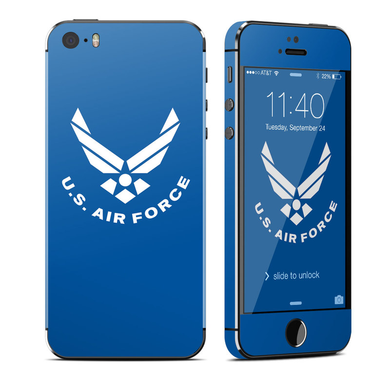 USAF Blue iPhone SE, 5s Skin