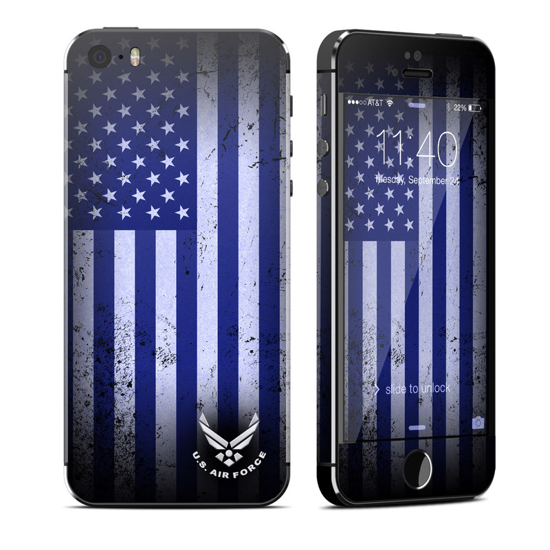 USAF Flag iPhone SE, 5s Skin
