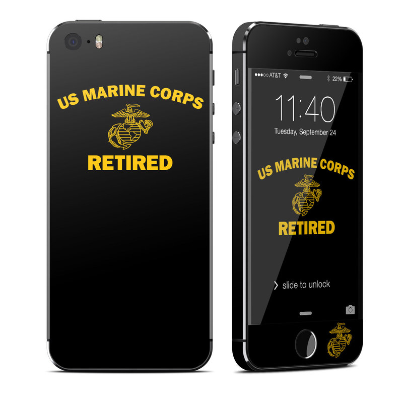 USMC Retired iPhone SE, 5s Skin