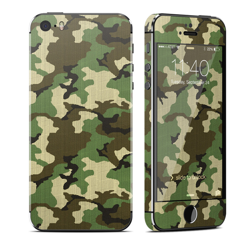 iPhone SE, 5s Skin design of Military camouflage, Camouflage, Clothing, Pattern, Green, Uniform, Military uniform, Design, Sportswear, Plane with black, gray, green colors