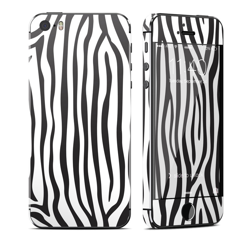 Zebra Stripes iPhone SE, 5s Skin