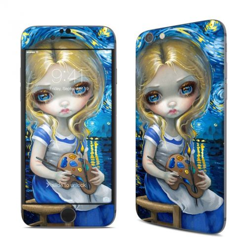 Alice in a Van Gogh iPhone 6s Skin