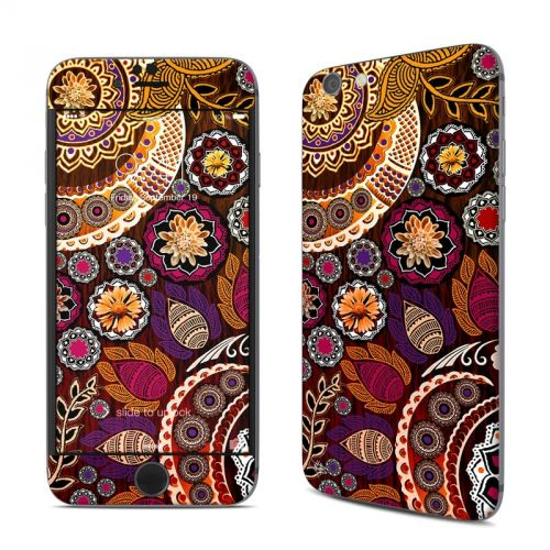 Autumn Mehndi iPhone 6s Skin