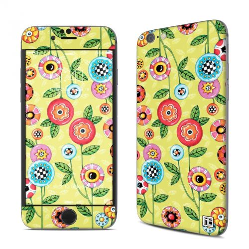 Button Flowers iPhone 6s Skin